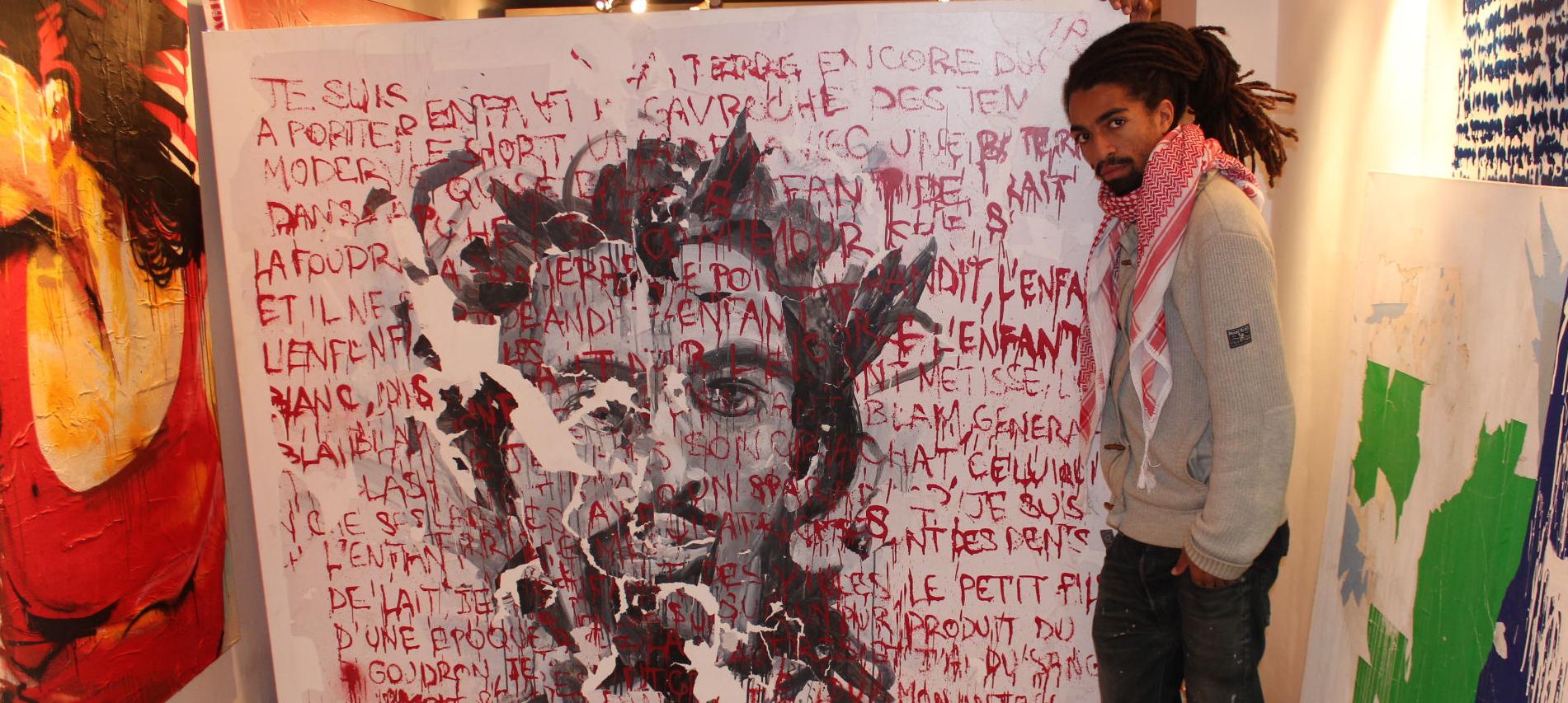 Kouka du papier du carton et de l urgence urban art paris bordeaux - L art du papier paris ...