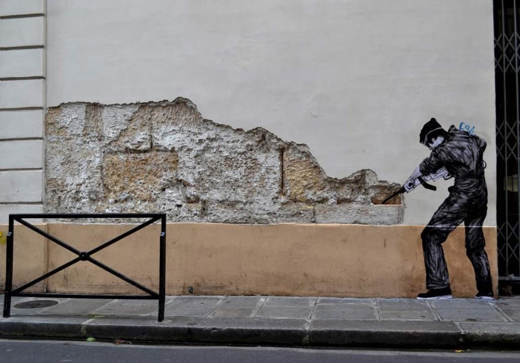 Levalet : artiste urbain la nuit, professeur le jour