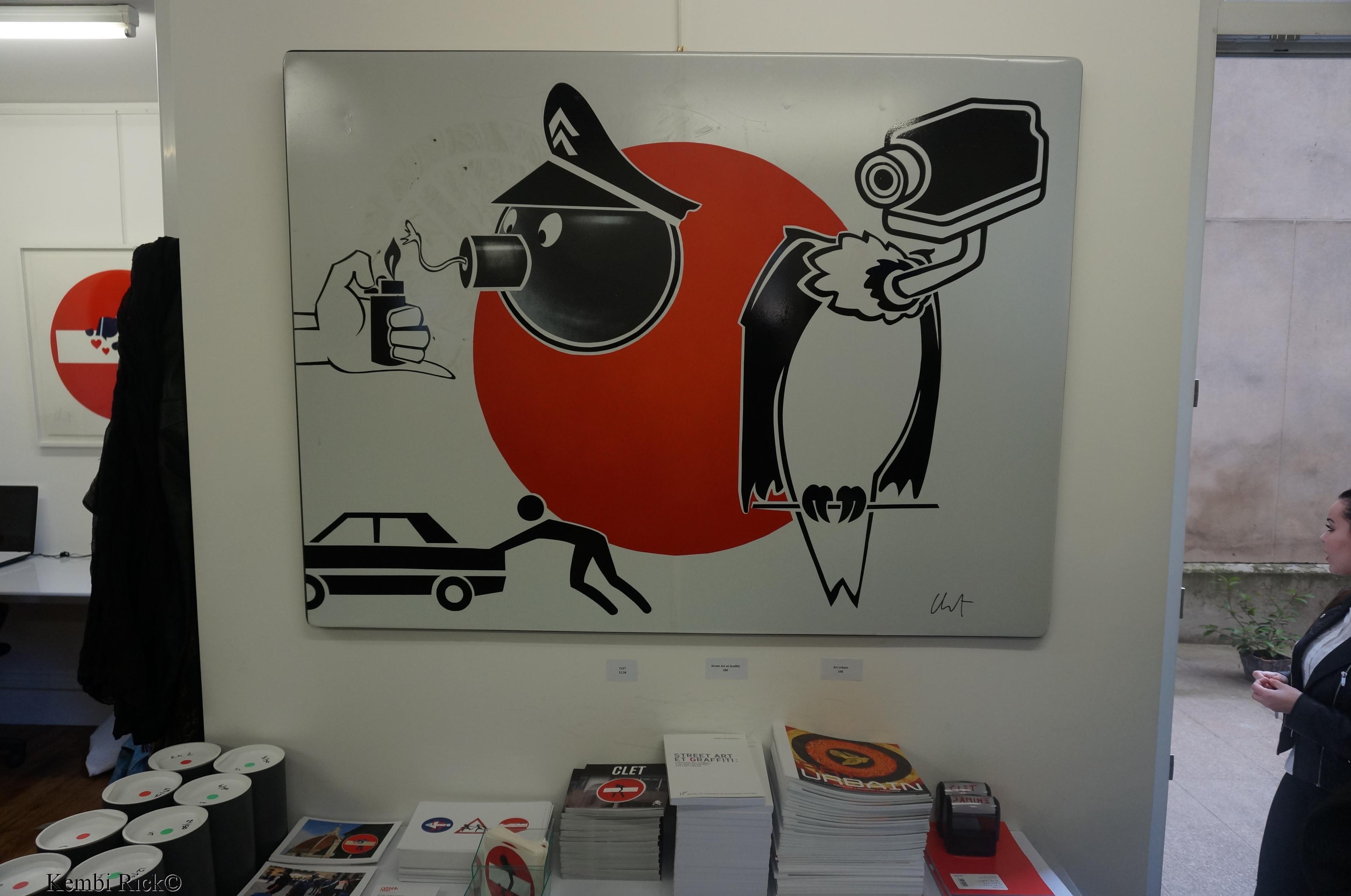 Exposition de Clet Abraham - Galerie Artistik Rezo