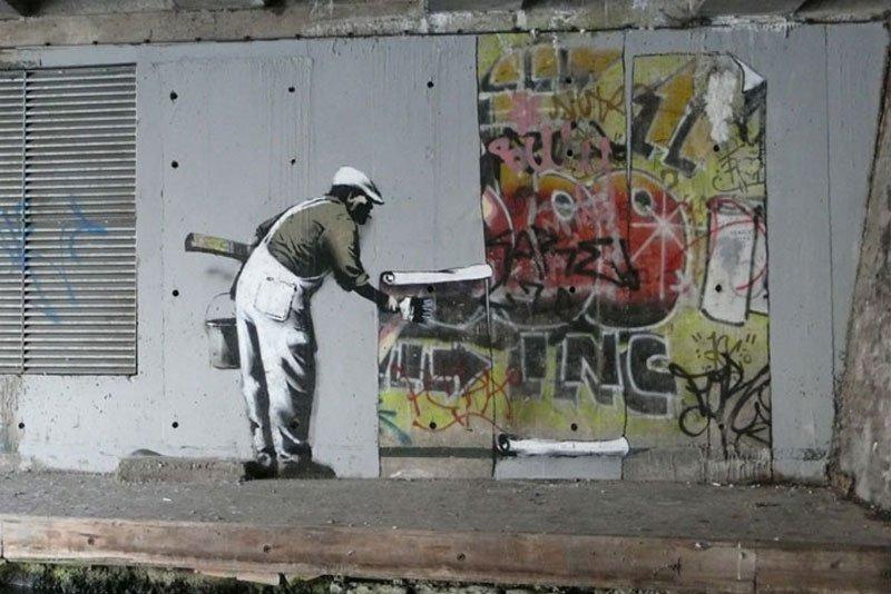 Banksy et Robbo - histoire à Candem Town