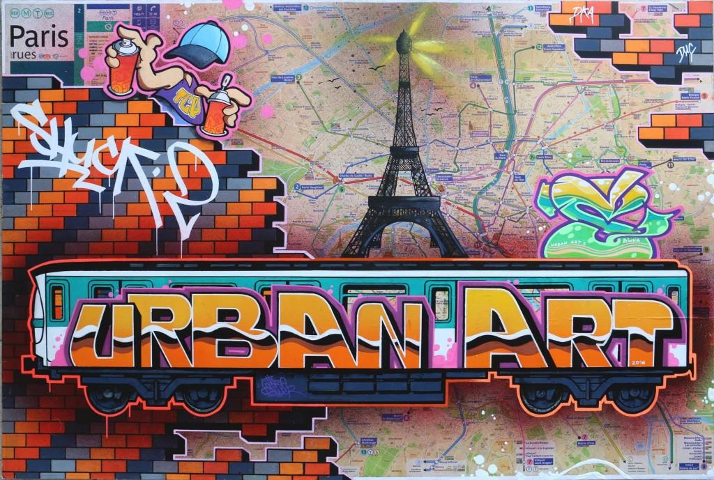 graffiti street art vente aux ench res urban art paris bordeaux. Black Bedroom Furniture Sets. Home Design Ideas