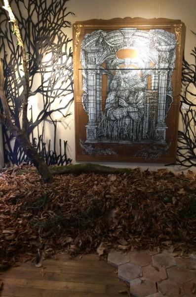 L'automne s'invite dans la galerie © Marie-Ange Baudin