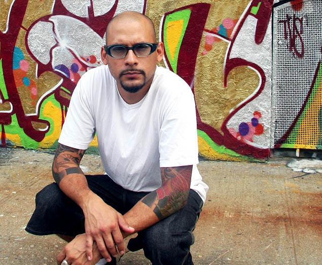 Alan Ket graffeur et maintenant auteur
