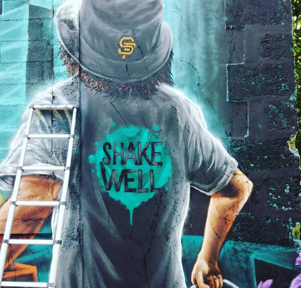 shake well