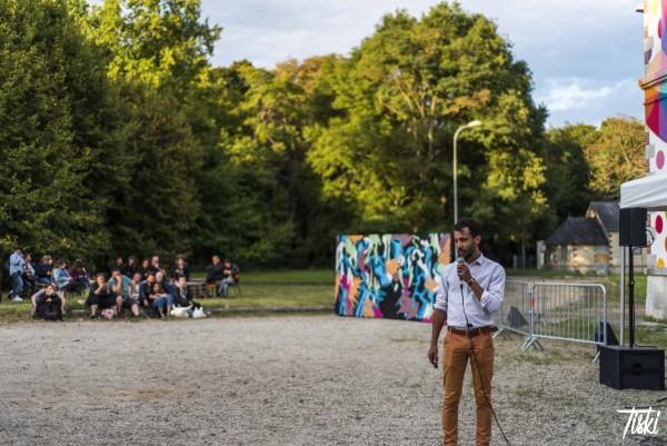 Discours de Sébastien, Président d'Urban Art Paris © Tiski
