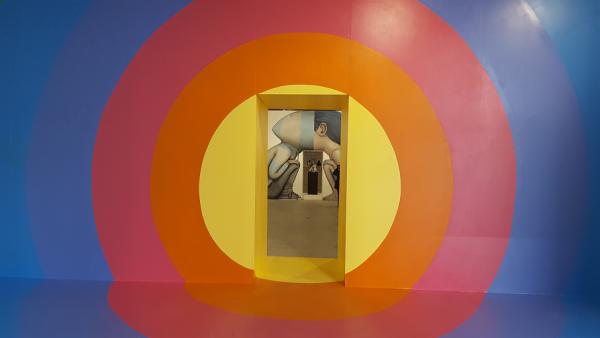 Enter the vortex - acrylique et aérosol