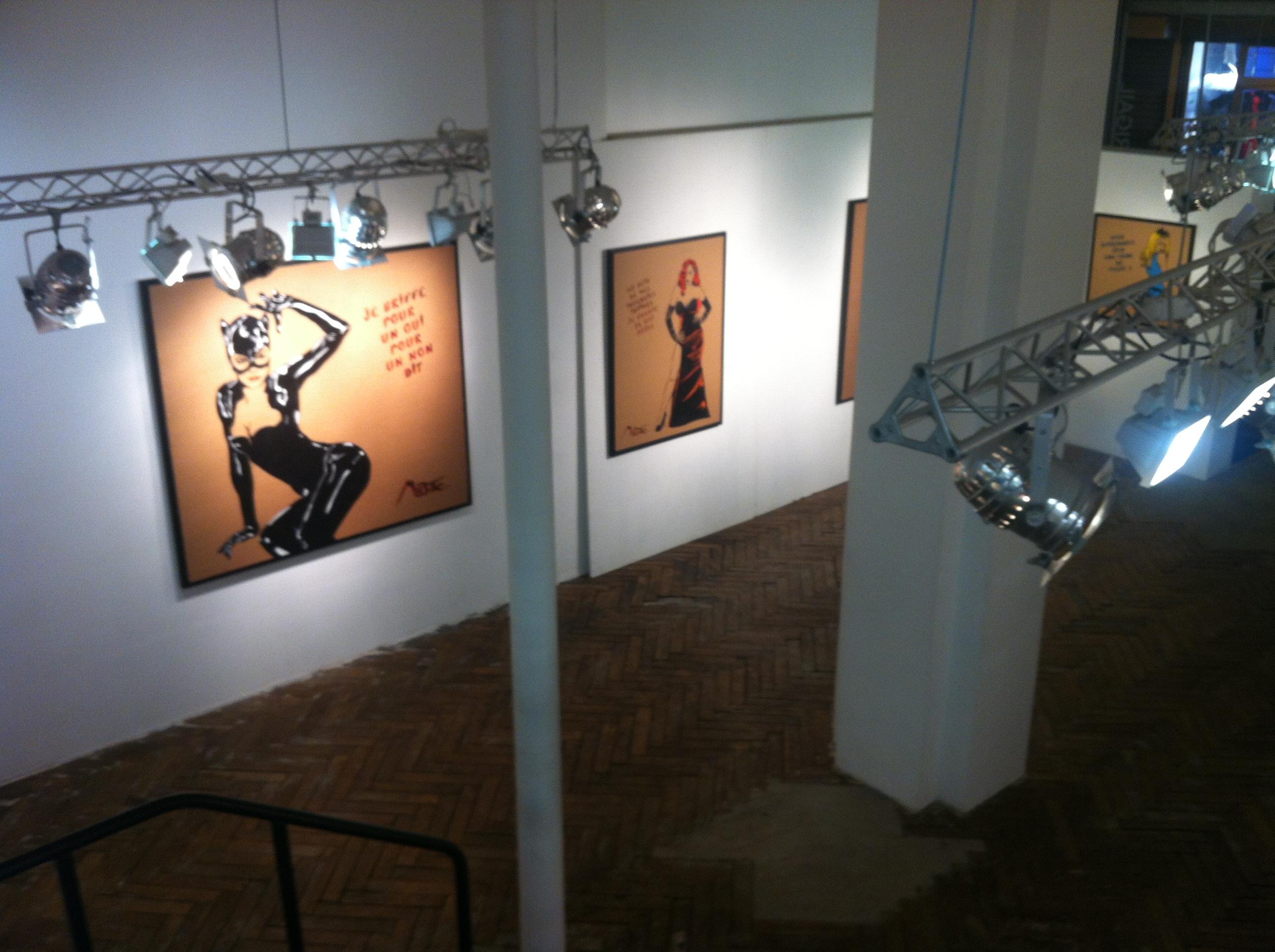 Exposition Miss Tic© Galerie Brugier-Rigail