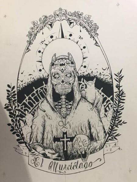 Sérigraphie « El Murciélago » – Noty Aroz