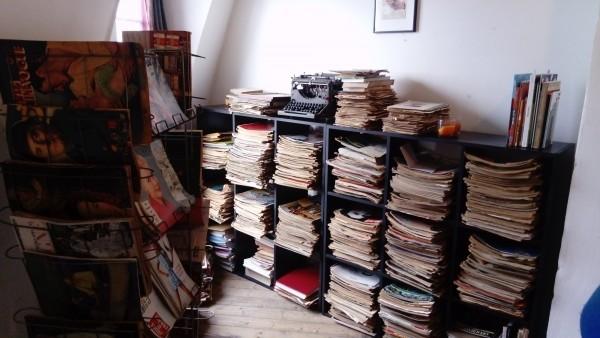 La collection de magazines d'Itchi