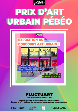 Prix d'art urbain Pébéo